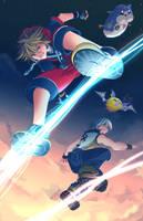 Kingdom Hearts Dream Drop Distance by suzuran