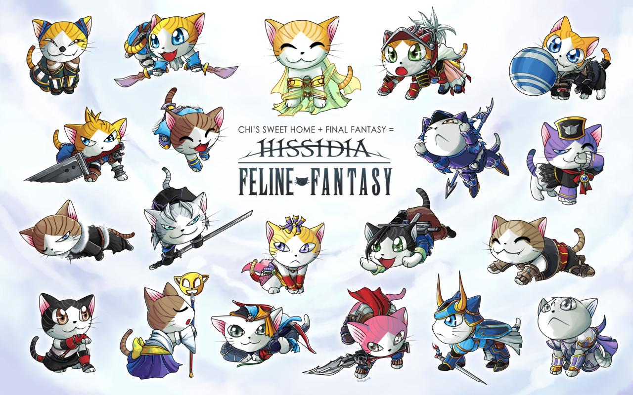 Feline Fantasy: Hissidia