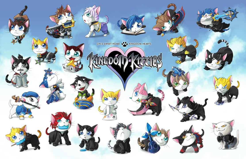 Kingdom Kitties by suzuran