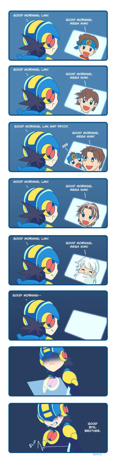 Mega Man Battle Network - Good Morning by suzuran