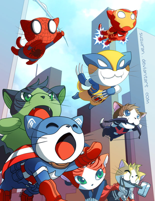 Meowvel's Avengers Assemble!
