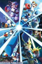 Mega Man X by suzuran