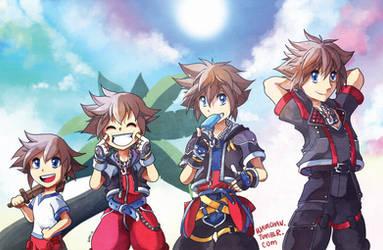 Sora - All grown up! by suzuran