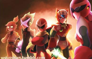 Mega Man - Team Red Final Smash by suzuran