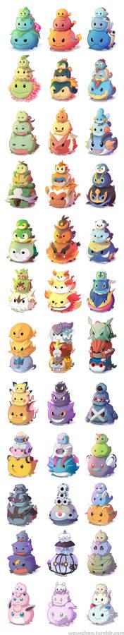 Pokemon TsumTsums!