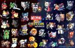 Meowvel vs Catcom Infurnite! by suzuran