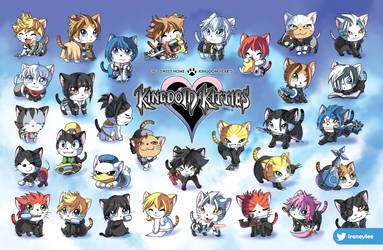 Kingdom Kitties 2019 version :) by suzuran