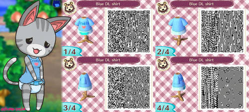 Crinkle Shirt Design QR codes