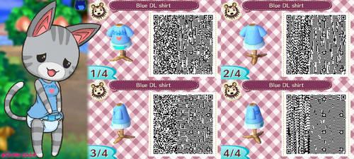 Crinkle Shirt Design QR codes by Shima-pad