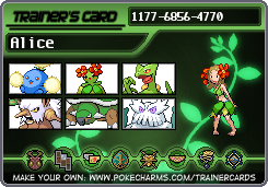 Grass Gym Leader trainer card (not main gym) by TintjeMadelintje101