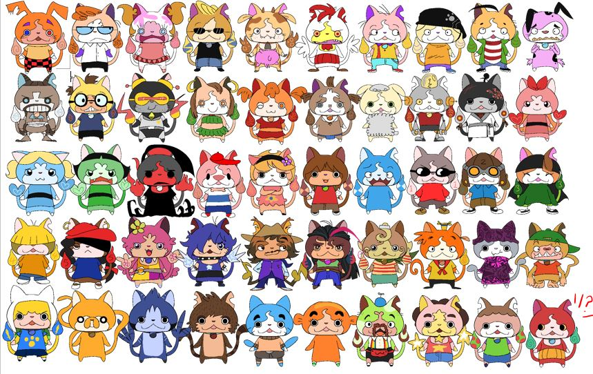 Yo Kai Watch X Cartoon Network By Ezstrongs On Deviantart