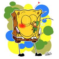 plankton and spongebob