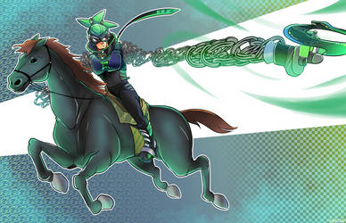 horse rider ninjara