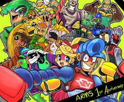 ARMS 1st Anniversary