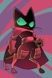 black cat hero