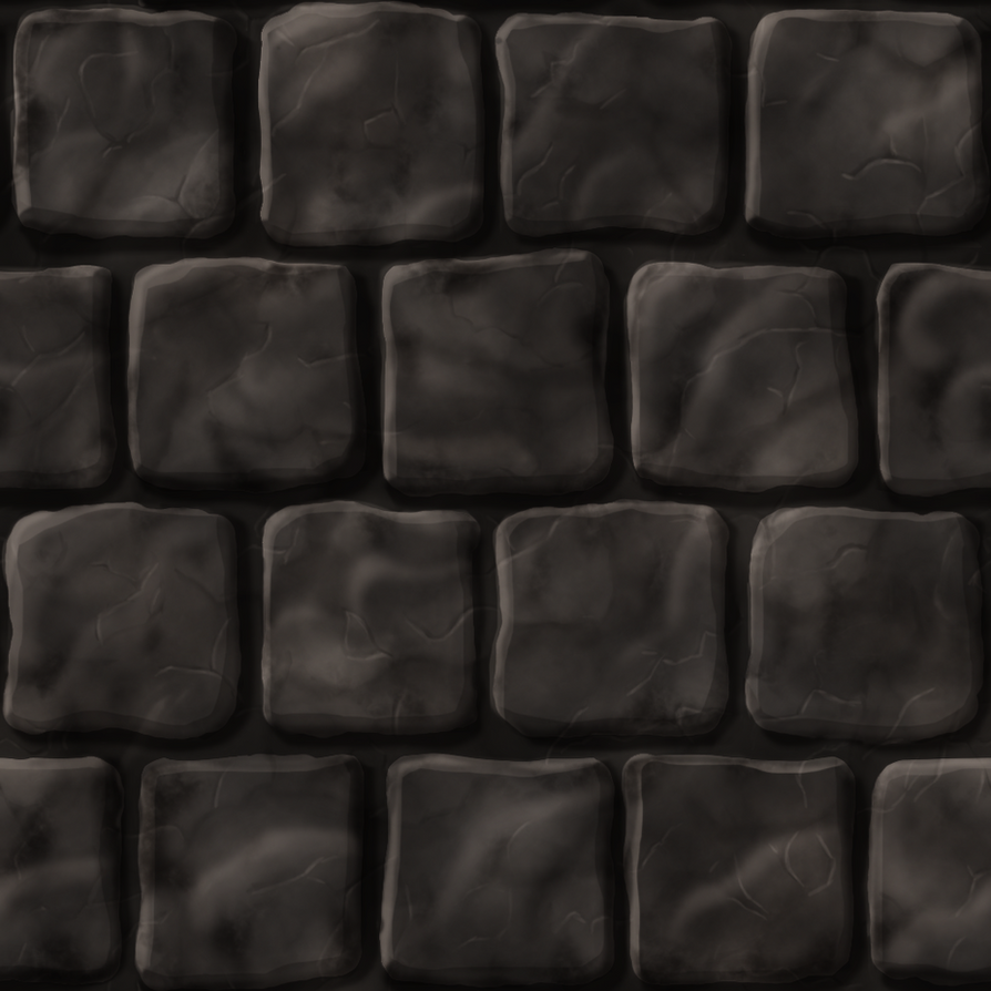 Seamless Cobblestone Texture by bcmartini77. Cobblestone Texture Seamless