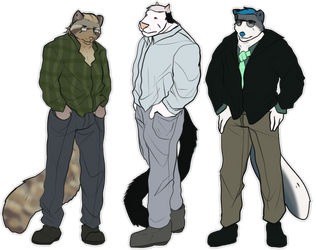 Favorite Characters by KittyWarFur