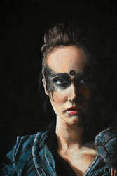 [Fanart] - Lexa from The 100 by Erinyes-Furiae