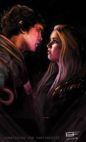 [Commission] - Bellarke (for chrisrox110) by Erinyes-Furiae