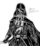 Darth Vader Inking