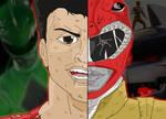 Power Rangers Duality - Jason/Red Draon Ranger