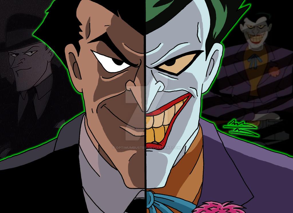 DCAU Duality - Jack Napier/The Joker by OptimumBuster