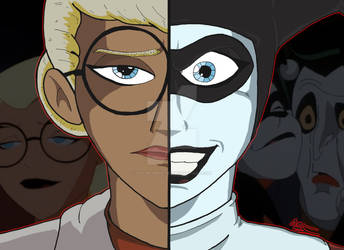 DCAU Duality - Dr. Harleen Quinzel/Harley Quinn