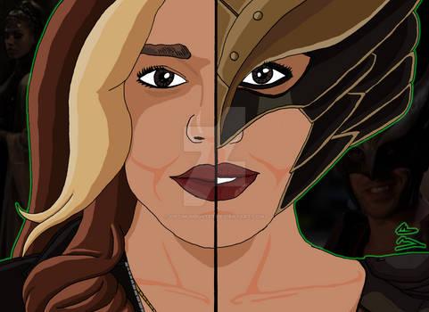 Arrowverse Duality - Kendra Saunders/Hawkgirl
