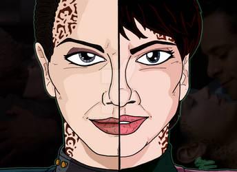 Star Trek Duality - Dax (Jadzia and Ezri)