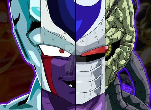 Dragon Ball Collage - Cooler