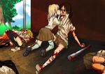 SNK: The delinquent and the good girl