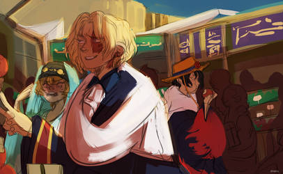 strangers passing by by xShieru