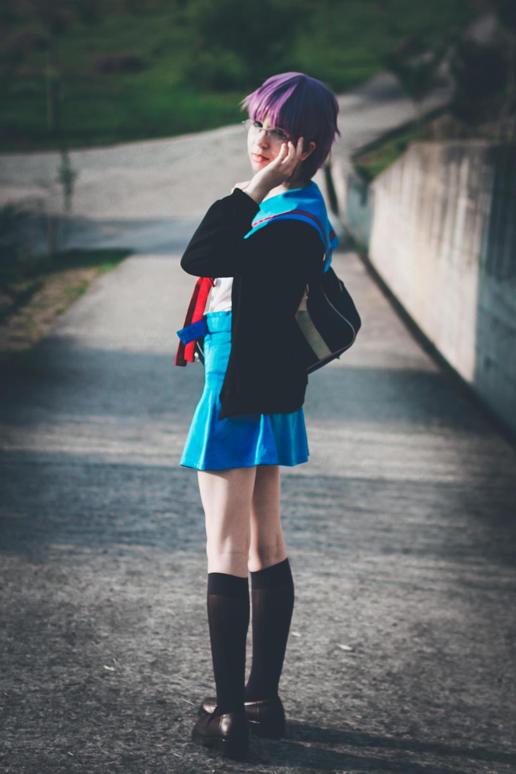 Yuki Nagato Cosplay by Livy-Livy