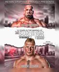 Goldberg vs Lesnar SS  Poster