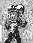 She-Venom Resketch Commission