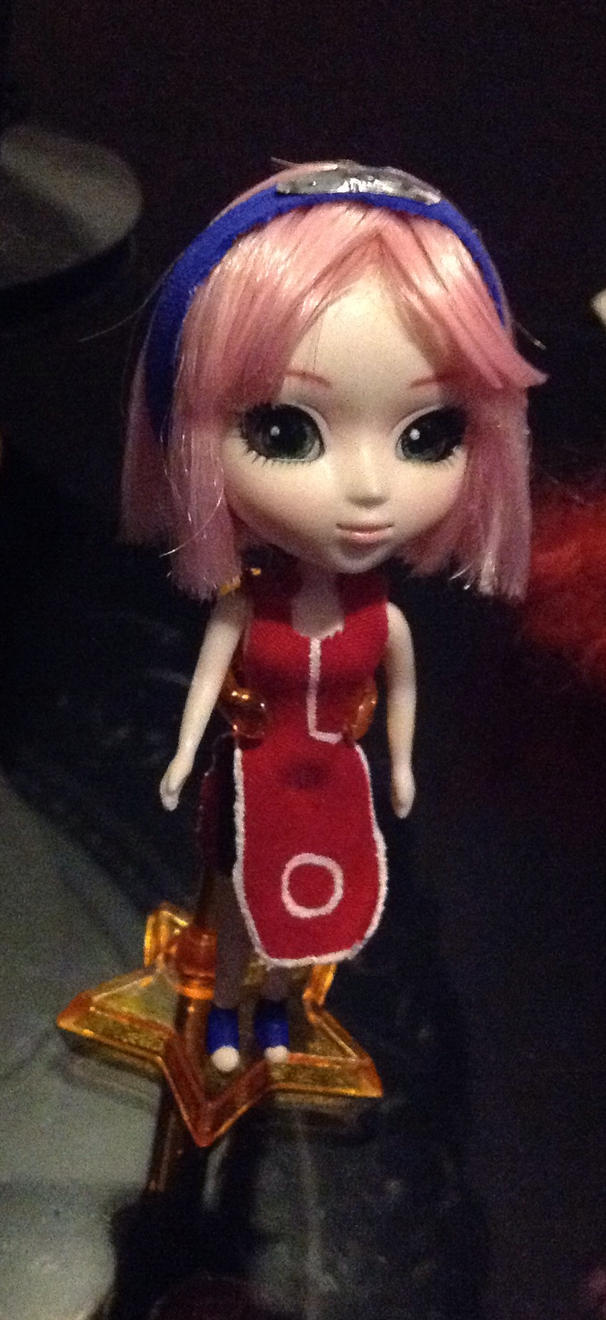 Sakura Haruno Pullip Mini By Verakitty On Deviantart