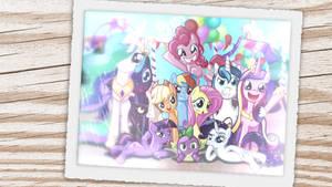 My Little Pony Friendship is Magic by CeriseHood87
