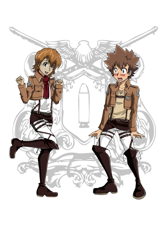 Kyokasa and Tseren by mina-hachi
