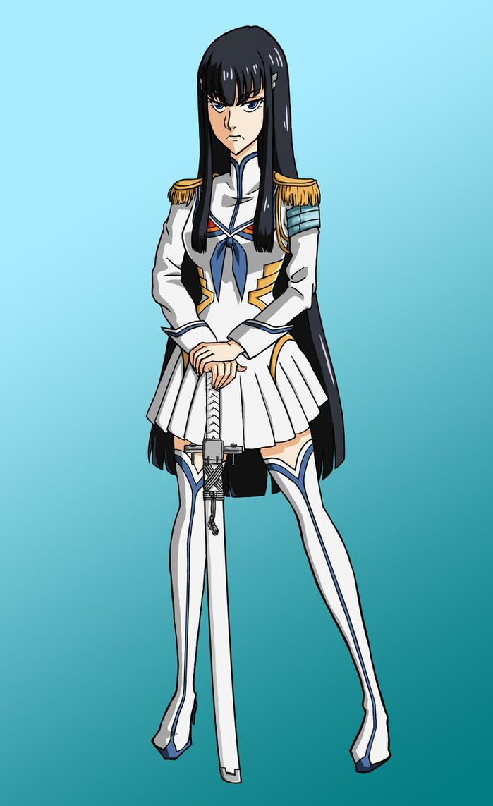 Satsuki Kiryuin by mina-hachi