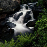 IN WATERFALL by THOM-B-FOTO