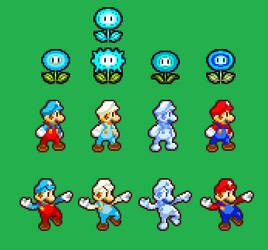 Ice Mario Preview by CyberWolfJV