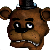 Unhappy Freddy Emoticon