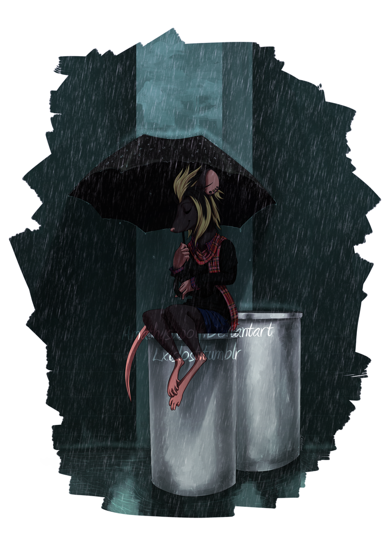 Sound of Rain by amathystwolf