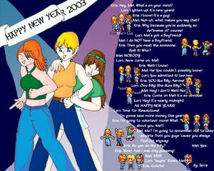 Happy New Year 2003 -Contest