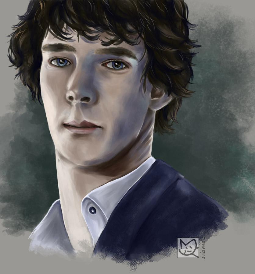 Sherlock by shizonek