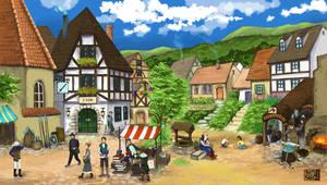 Town of Ur by shizonek