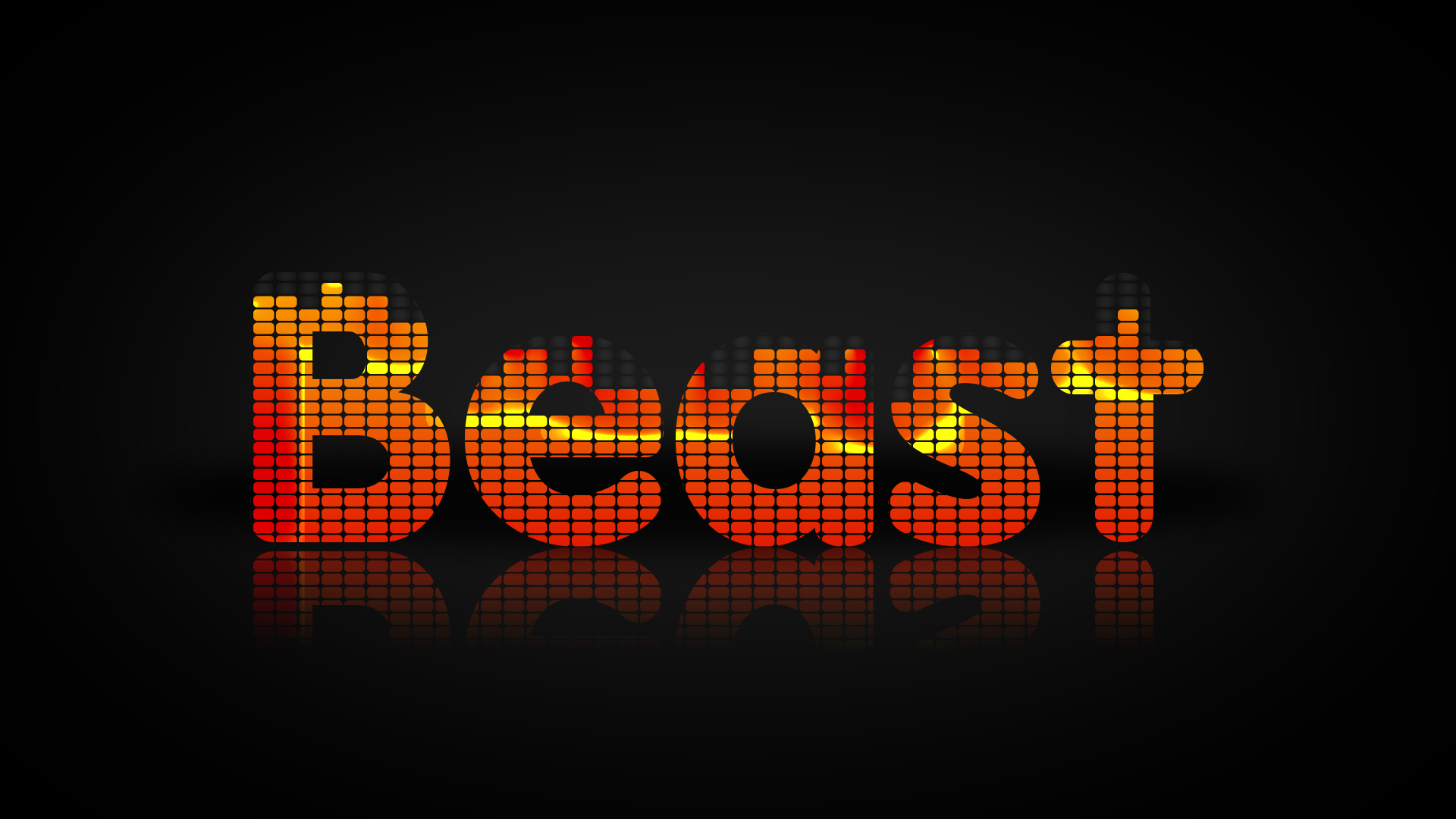 Equalizer Text Effect Photoshop