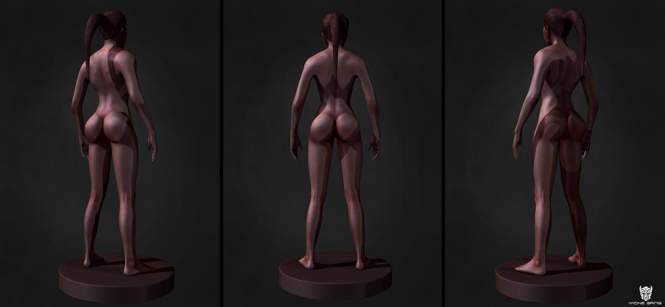 All the renders, Final Image 3D Female Anatomy By by YacineBRINIS on ...