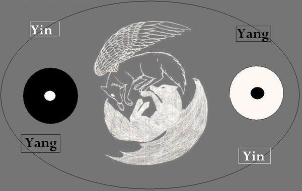 yin-yang wolves by silver-fox-07 on DeviantArt
