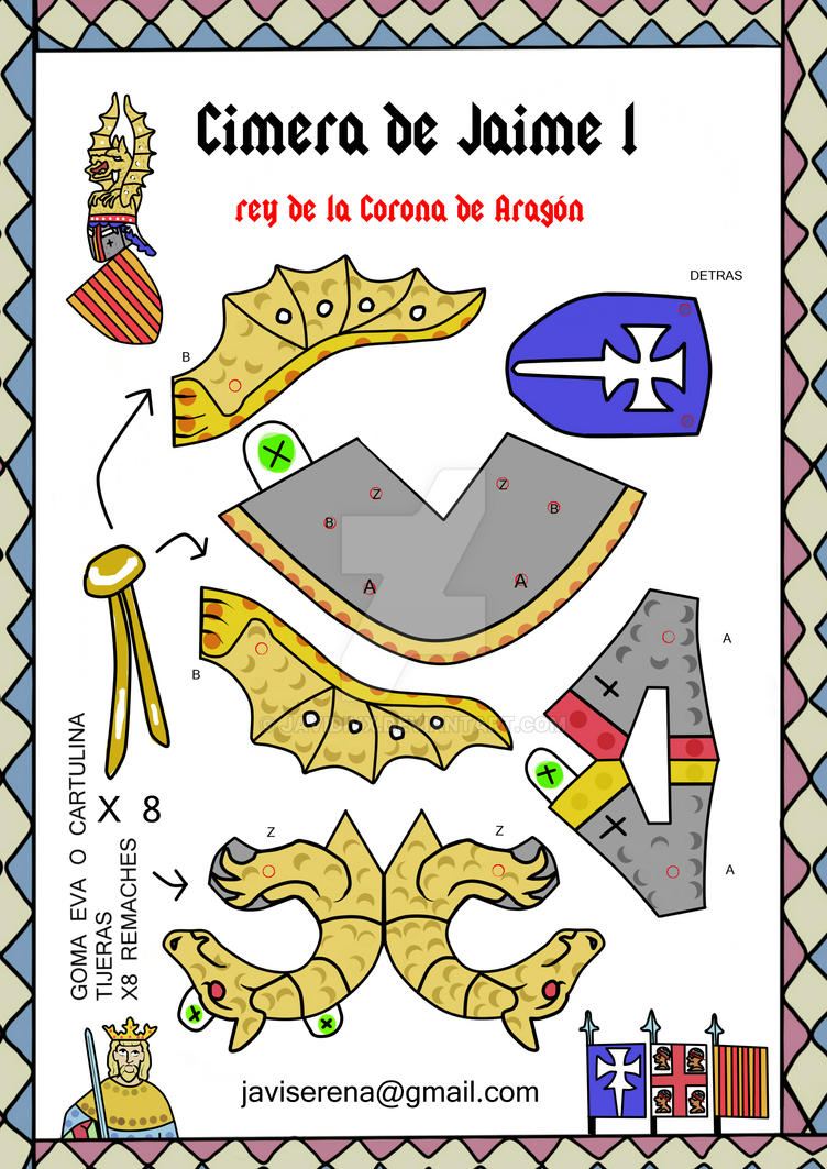 casco de jaime  el conquistador rey de aragon by javidivx